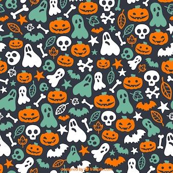 Carino modello di Halloween