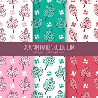 Carino sfondo di autunno pattern
