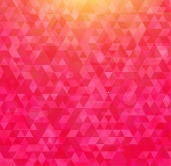 Carta disegno astratto ottagono di struttura poligonale