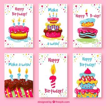 Carte di compleanno sveglie