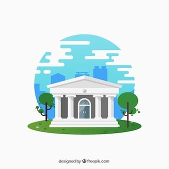 Casa Bianca con colonne