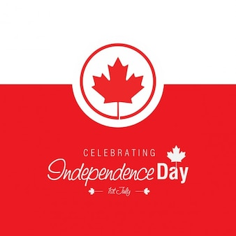 Celebrando 1 ° luglio Independence Day