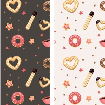Churros e Donuts pattern