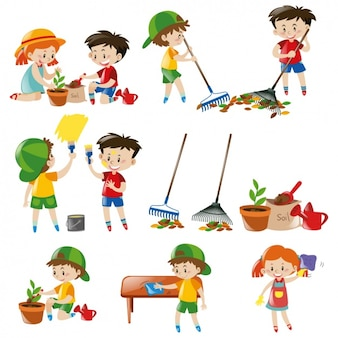 Collezione bambini colorato