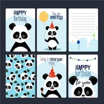 Collezione carte di compleanno