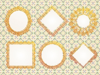 Collezione cornici ornamentali