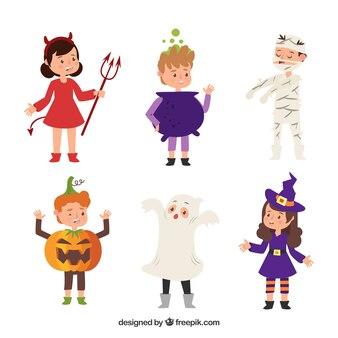 Collezione costumi di Halloween