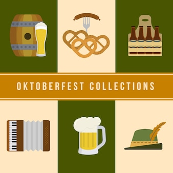 Collezione degli elementi Oktoberfest