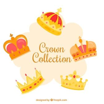Collezione di corona d'oro