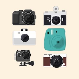 Collezione di fotocamere effettive