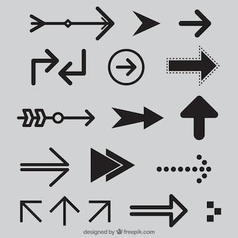 Collezione di freccia moderno