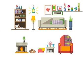 Collezione di mobili da soggiorno