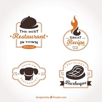 Collezione logo del ristorante