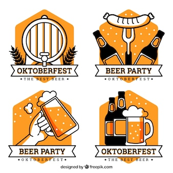 Collezione logo Oktoberfest