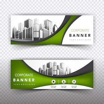 Collezione modelli di banner