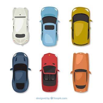 Collezione moderna di automobili