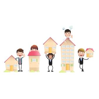 Collezioni di personaggi delle case