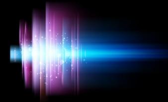 Colore gradienti grafico viola moderna