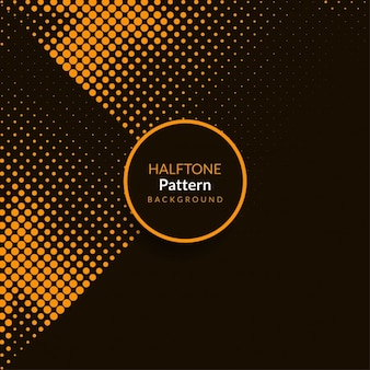 Colore marrone Design elegante pattern mezzetinte