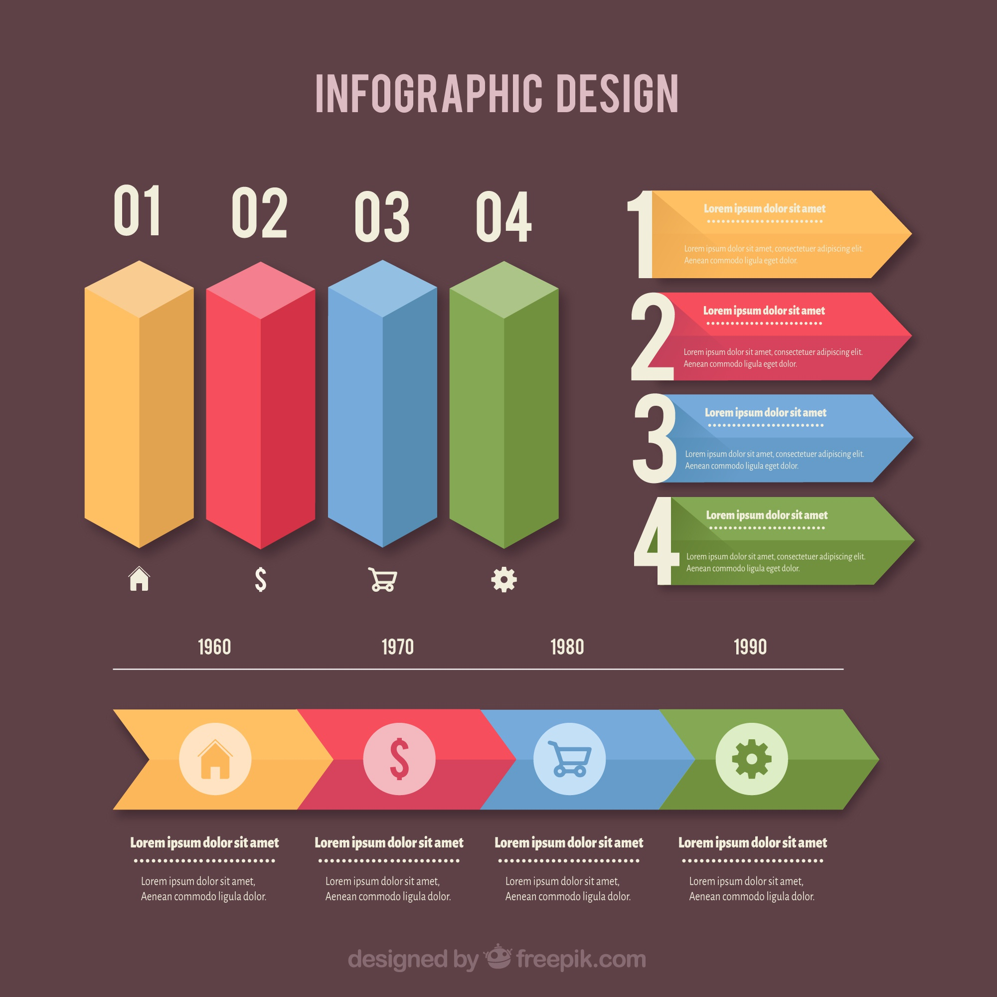 Colorful Collection Infografica