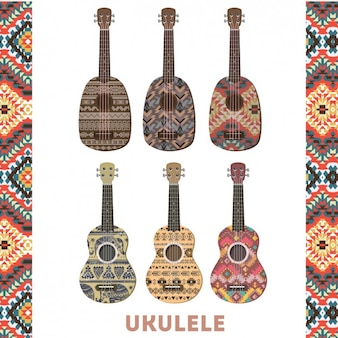 Colorful Ukulele Set