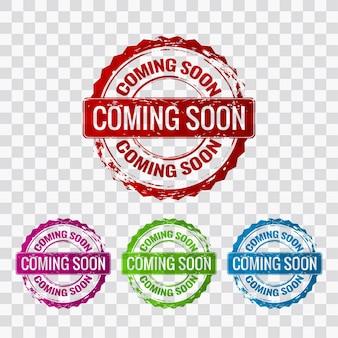 Coming soon etichetta