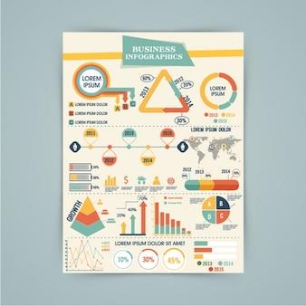 Completo Modello infografica