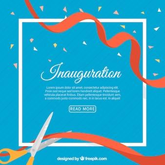 Composizione di inaugurazione con cornice