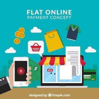 Compra online utilizzando il cellulare