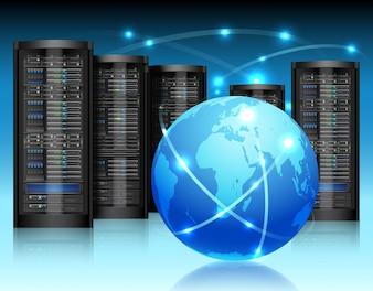Concetto di rete globale