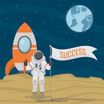 Concetto di successo