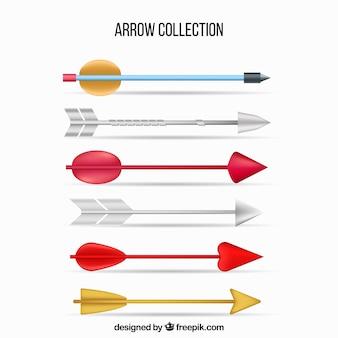 Confezione di frecce indiane