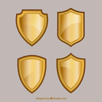 Confezione di scudi d'oro