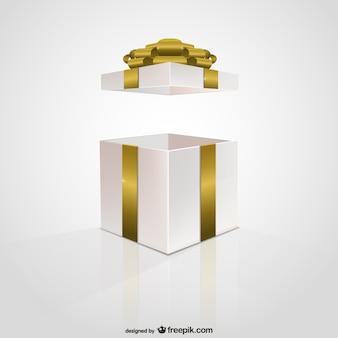 Confezione regalo Nastro dorato