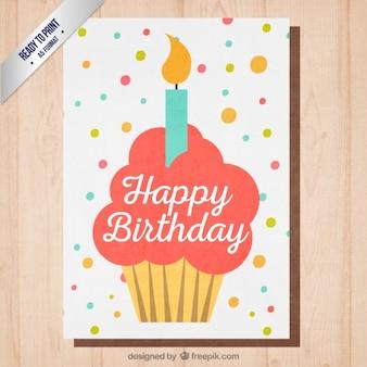 Cupcake compleanno invito