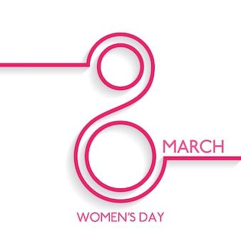 Day background disegno delle donne