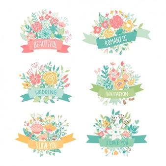 Decorativi floreali collezione Elements