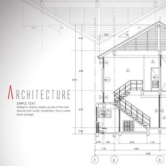 Blueprint presentazione realistica scaricare psd gratis for Generatore di blueprint gratuito