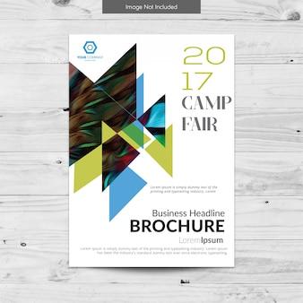 Design brochure aziendale bianco