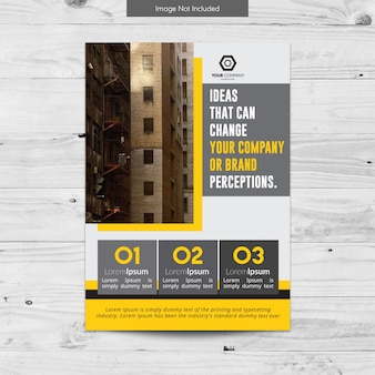 Design classico brochure aziendale