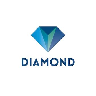 Design del logo del diamante