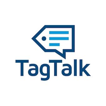 Design del logo del tag