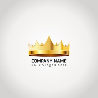 Design del logo della corona