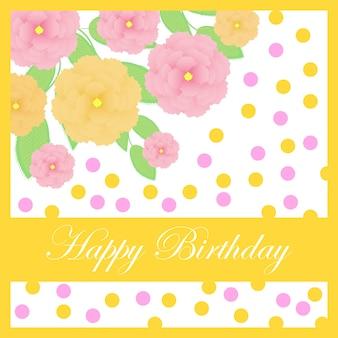 Design di sfondo felice di compleanno