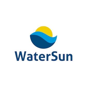 Design logo acqua