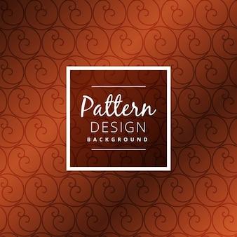 design pattern cerchio marrone