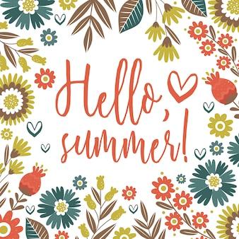 Design Summer background