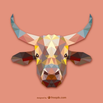 Disegno del triangolo mucca