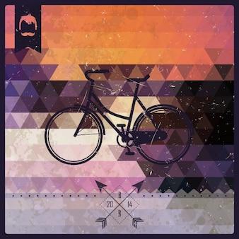 Disegno di sfondo biciclette
