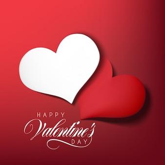 Disegno di sfondo di San Valentino